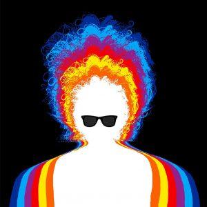 Dylan – Black Rainbow – BBC Radio 2 tribute CD sleeve